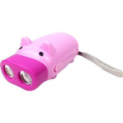 Zaklamp varkentje ECO ( geen batterijen nodig!) ( 16 stuks OP = OP )