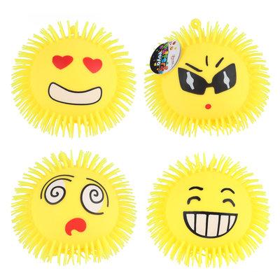 Pufferbal Emoji ( opgeblazen) ( VOORRAAD 56 STUKS OP=OP)