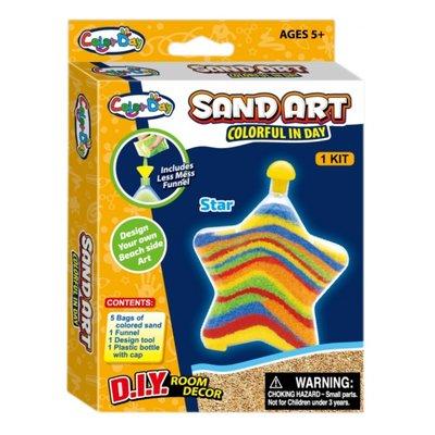 Maak je eigen zand kunst