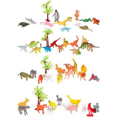 Speelset dieren in tube ( VOORRAAD 37 STUKS OP=OP)
