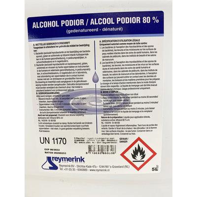 Reymerink MAANDACTIE!!! Alcohol Podior 80% 5 liter *