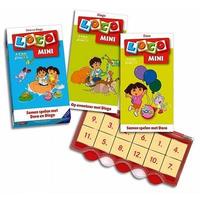 Loco Samen spelen met Dora en Diego Mini Pakket
