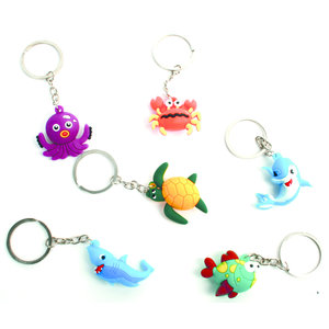 Sleutelhanger zeedieren