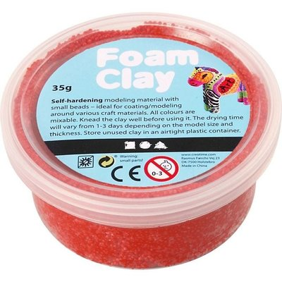 Foam Clay 35 g. rood