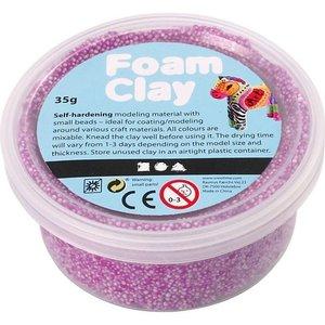 Foam Clay 35 gr. neon paars