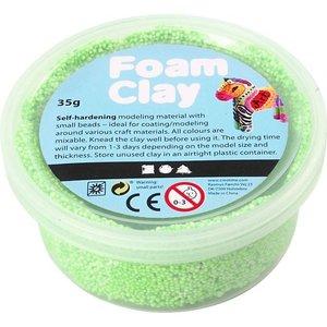 Foam Clay 35 gr. neon groen