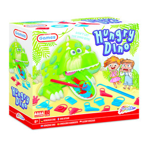 Hongerige Dino (komt helaas niet binnen)
