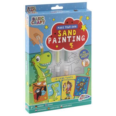 Maak je eigen zandschilderij (jongens)