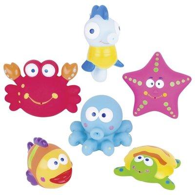 Waterspuiter zeediertjes
