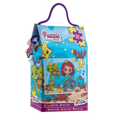 Puzzel 30 stukjes div. soorten