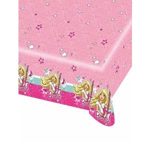 Tafelkleed Barbie Popstar