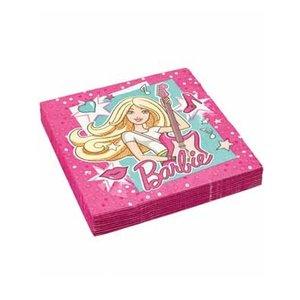 Servetten Barbie Popstar