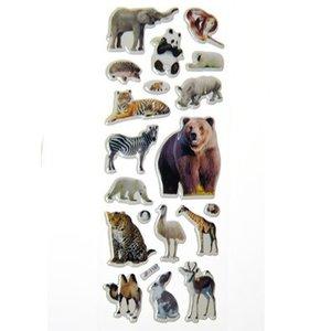 Stickers Wilde Dieren