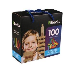 BBlocks BBLocks 100 stuks in doos gekleurd