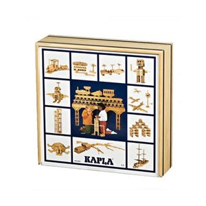 Kapla Kapla in Kist 100 stuks blank
