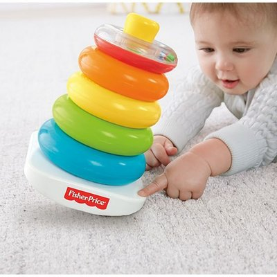 Fisher Price Fisher Price Kleurenringpiramide