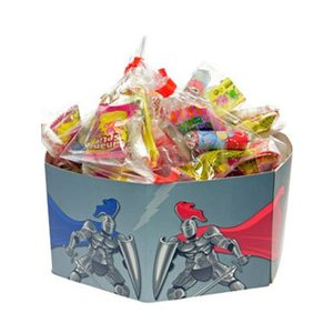 Traktatiebox Ridders (incl. snoepzakjes)