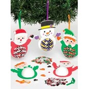 Kersthangers pailletten DIY