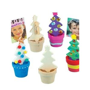 Kerstboom foto- of notitiehouder ( nog 3 stuks leverbaar )