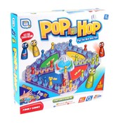 Pop en hop spel ( VOORRAAD 1 STUKS OP=OP)