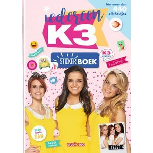 Studio 100 Stickerboek K3