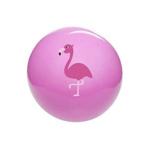 Bal flamingo (on-opgeblazen) ( Voorraad 56 stuks OP=OP)