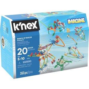 K'nex Bunch of Builds 20 modellen 353 stuks