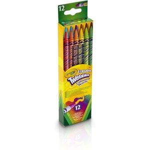 Crayola Crayola 12 Draaikleurpotloden