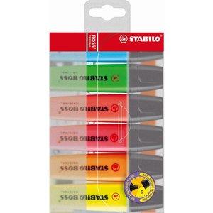 Stabilo STABILO BOSS Original - Etui 6 stuks