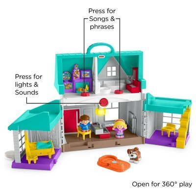 Fisher Price Handige helpers Huis Little People