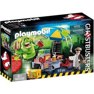 Playmobil Slimer en hotdogkraam Ghostbusters Playmobil 9222