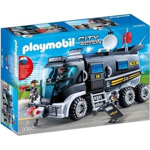 Playmobil SIE-truck met licht en geluid Playmobil 9360