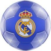 Bal Real Madrid leer groot wit/blauw