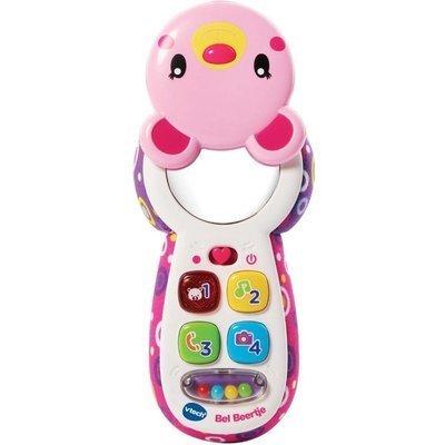 Vtech Telefoon Beertje roze