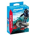 Playmobil Plus 9086 Ruimteridder met jet ( Voorraad: 2 stuks OP=OP)