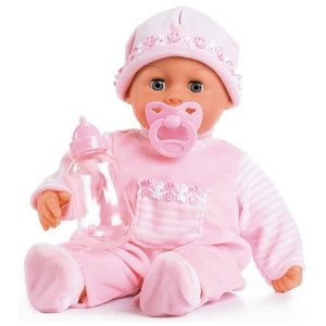 Nenuco First Words Baby Bayer: 38 cm roze