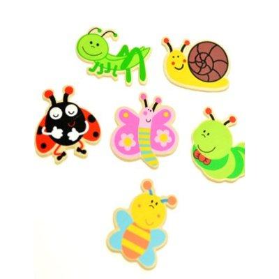 Deco figuurtjes insecten