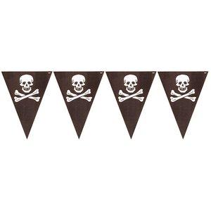 Vlaggenlijn Piraat (3,6 meter)