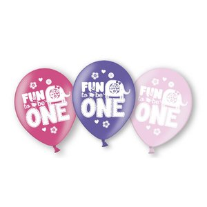 Ballonnen meisje 1 jaar