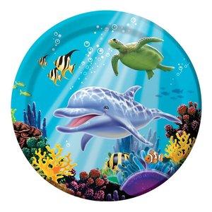 Bordje oceaan ( Nog 6 stuks leverbaar )