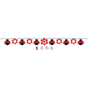Lieveheersbeestje letterslinger (1,7 meter)