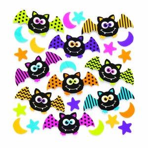 Vleermuis stickers van foam
