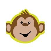 Uitnodigingen aap ( nog 2 stuks leverbaar )