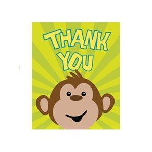 Bedank kaartje aap