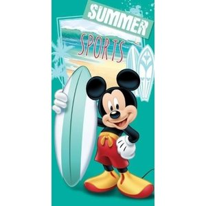Badlaken Mickey Mouse Surf (70 x 140 cm)