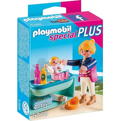 Playmobil Playmobil Plus 5368 Moeder met baby (Voorraad: 3 stuks OP=OP)