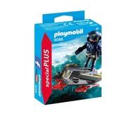 Playmobil Playmobil Plus 9086 ruimteridder met jet ( Voorraad: 2 stuks OP=OP!)