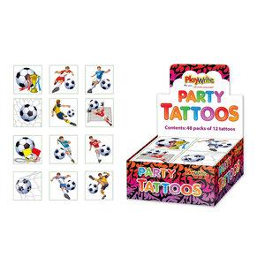 Tattoo voetbal