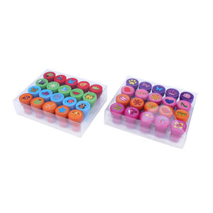 Stempels 20 stuks in doosje ( Voorraad 53 stuks OP=OP)