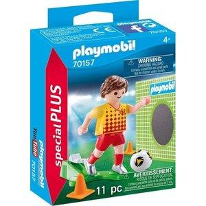 Playmobil Playmobil Plus 70157 Voetballer met doel